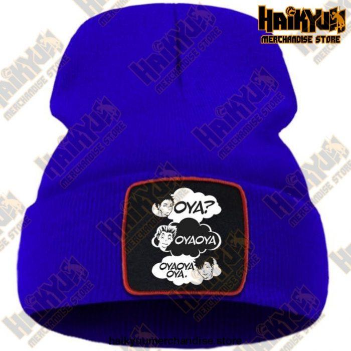 Oya Haikyuu Knitted Beanies Blue / China One Size