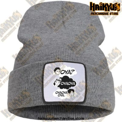 Oya Haikyuu Knitted Beanies Gray / China One Size