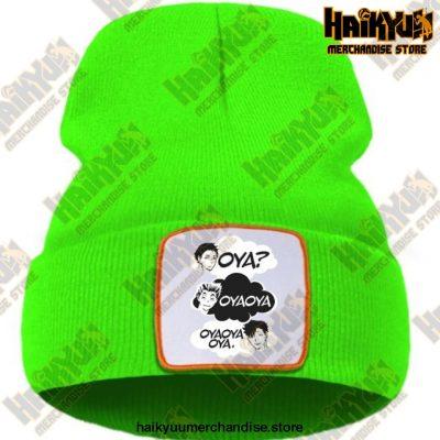 Oya Haikyuu Knitted Beanies Green / China One Size