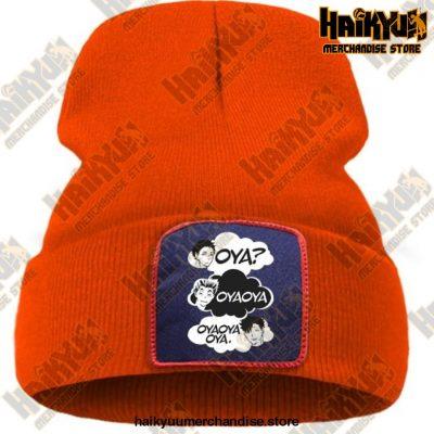 Oya Haikyuu Knitted Beanies Orange / China One Size