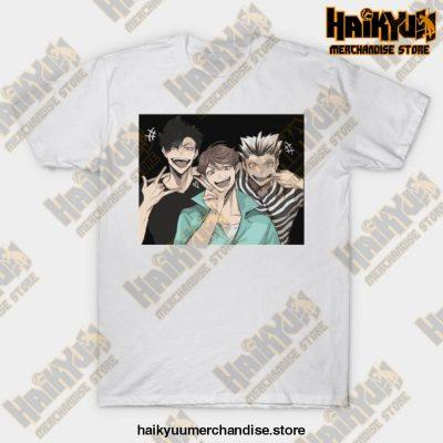 Selfie Haikyuu T-Shirt White / S