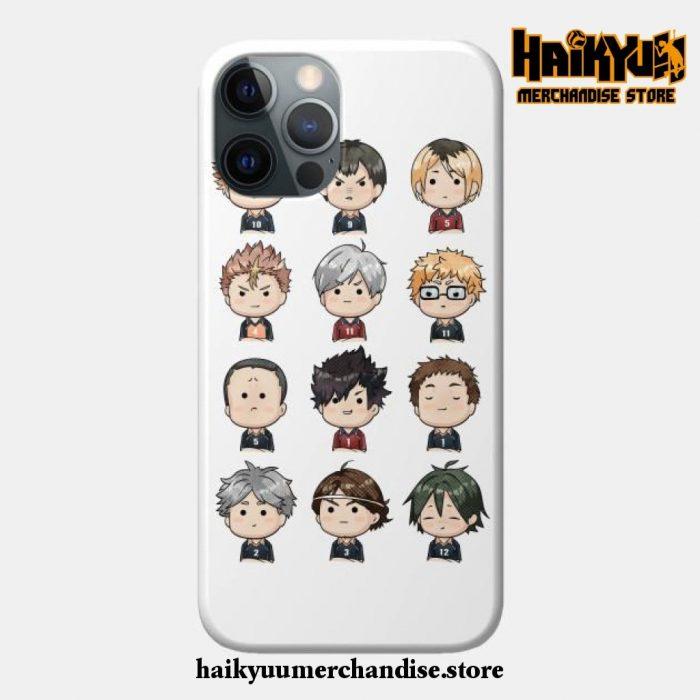 Haikyuu Chibi Phone Case Iphone 7+/8+