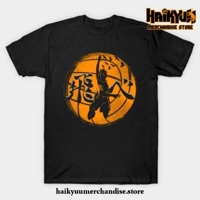 Haikyuu Fly High Shoyo T-Shirt Black / S
