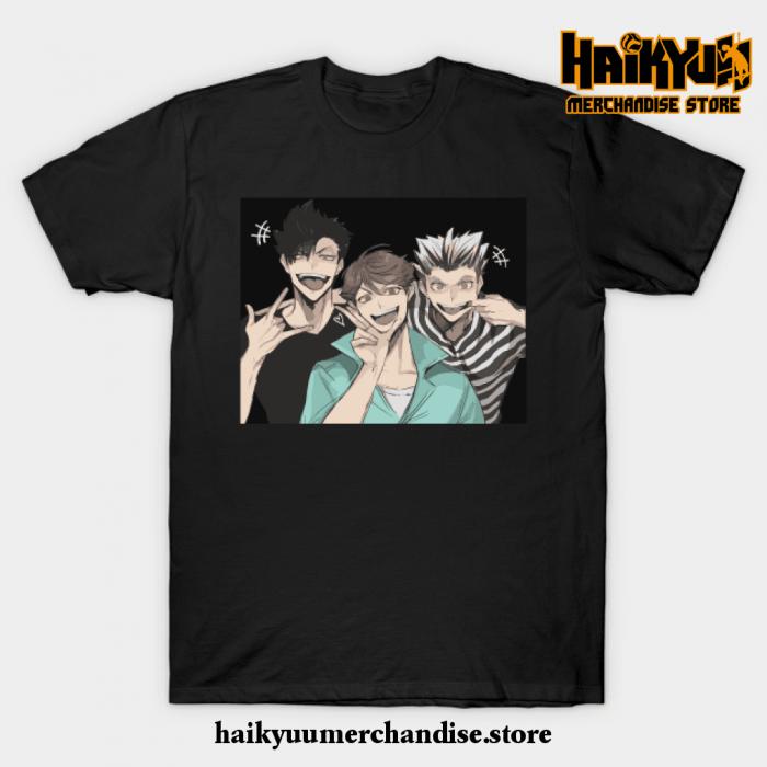 Haikyuu Selfie T-Shirt Black / S
