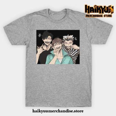Haikyuu Selfie T-Shirt Gray / S
