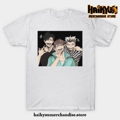 Haikyuu Selfie T-Shirt White / S