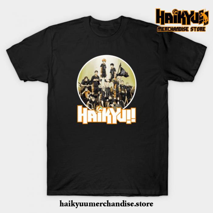 Haikyuu T-Shirt Black / S