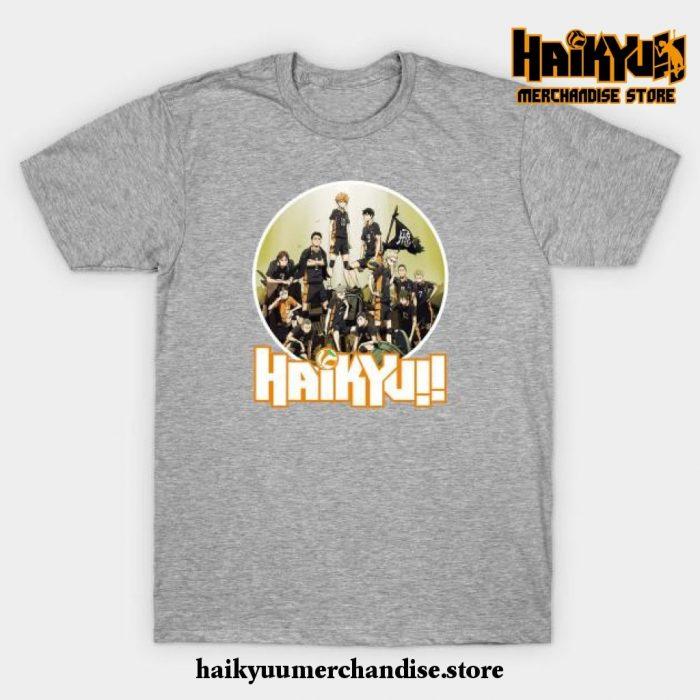 Haikyuu T-Shirt Gray / S