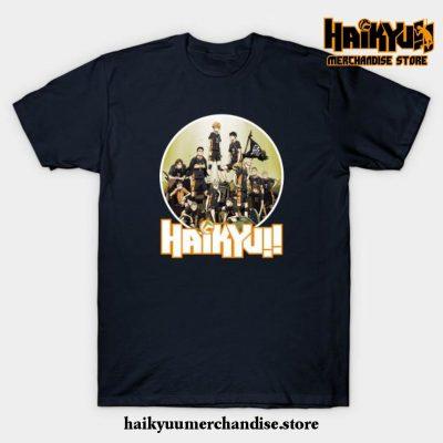 Haikyuu T-Shirt Navy Blue / S