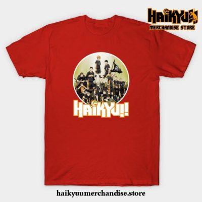 Haikyuu T-Shirt Red / S