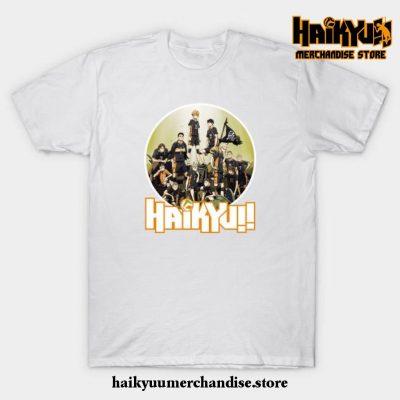 Haikyuu T-Shirt White / S