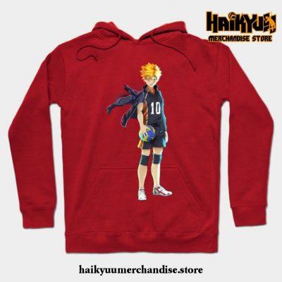 Hinata Hoodie Red / S
