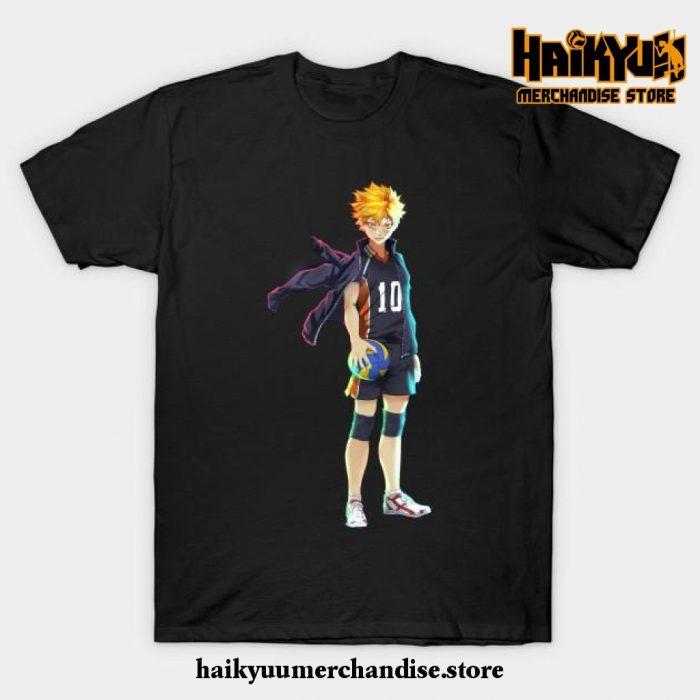 Hinata T-Shirt Black / S
