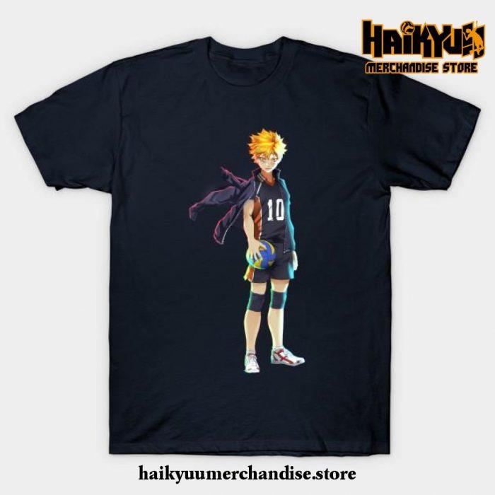 Hinata T-Shirt Navy Blue / S