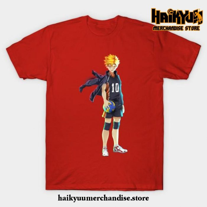 Hinata T-Shirt Red / S