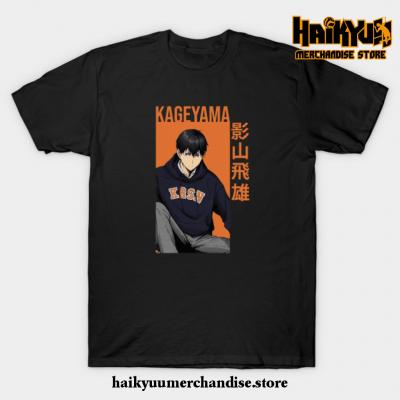 Kageyama Tobio - Haikyuu!! Anime T-Shirt Black / S