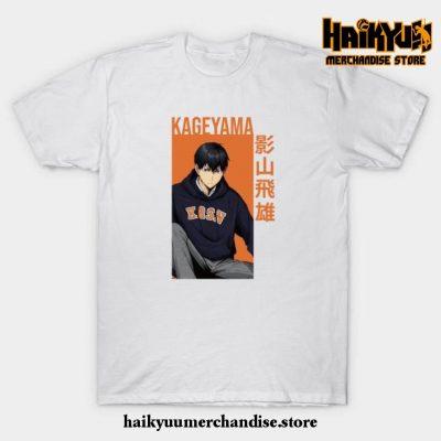 Kageyama Tobio - Haikyuu!! Anime T-Shirt White / S