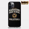 Karasuno High School Volleyball Phone Case Iphone 7+/8+
