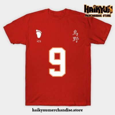 Karasuno High - Tobio Kageyama Jersey T-Shirt Red / S