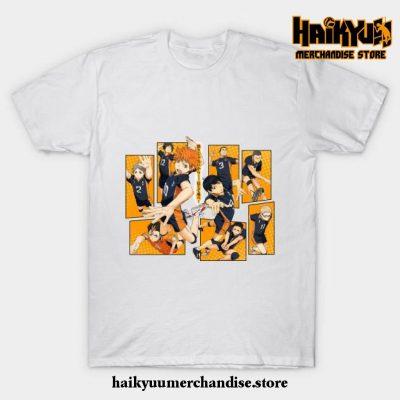 Karasuno Volleyball T-Shirt White / S