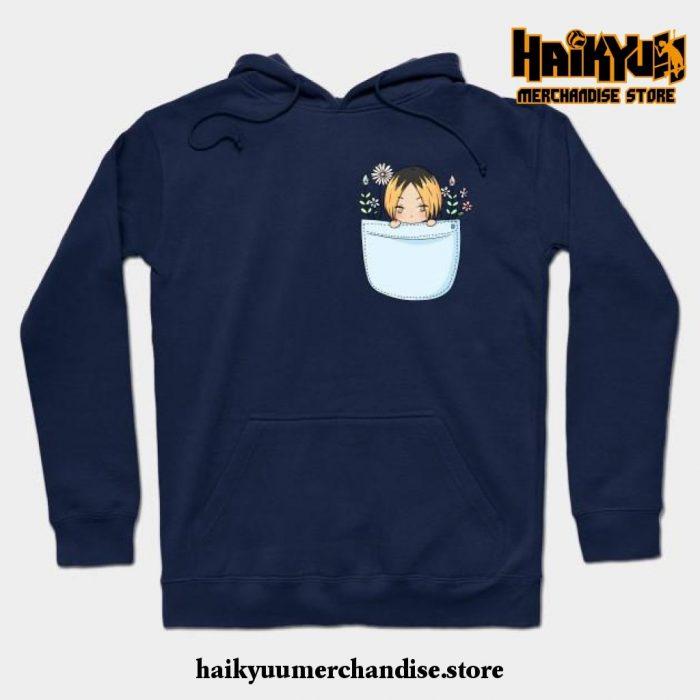 Kenma Hoodie Navy Blue / S