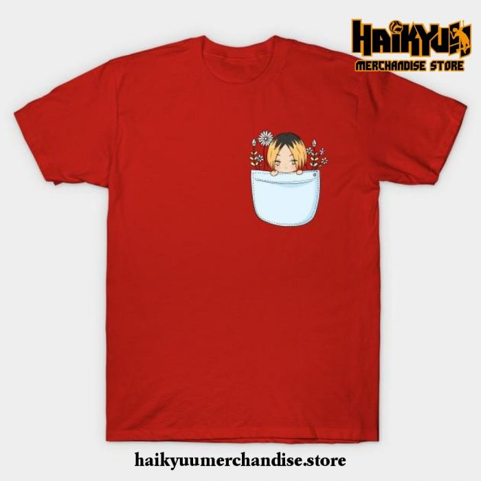 Kenma T-Shirt Red / S