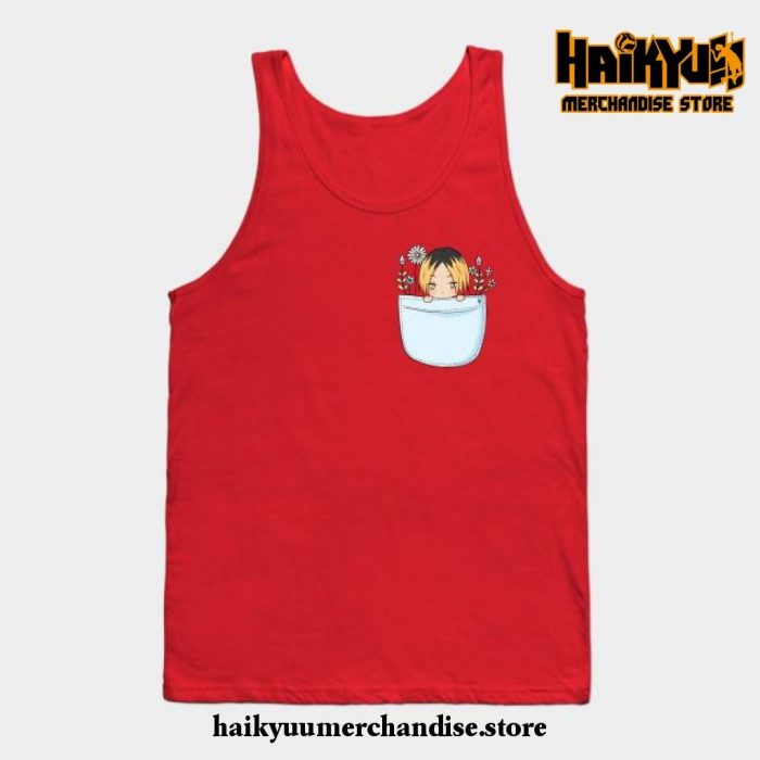 Kenma Tank Top Red / S