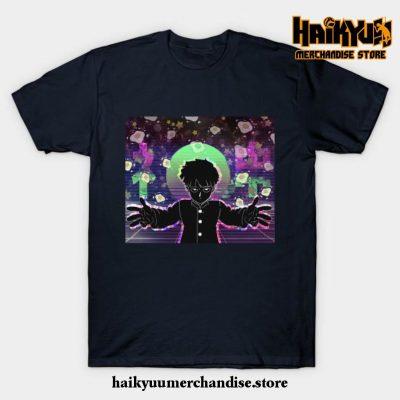 Mob Psycho T-Shirt Navy Blue / S