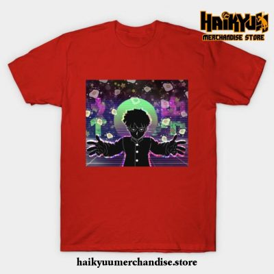 Mob Psycho T-Shirt Red / S