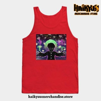 Mob Psycho Tank Top Red / S