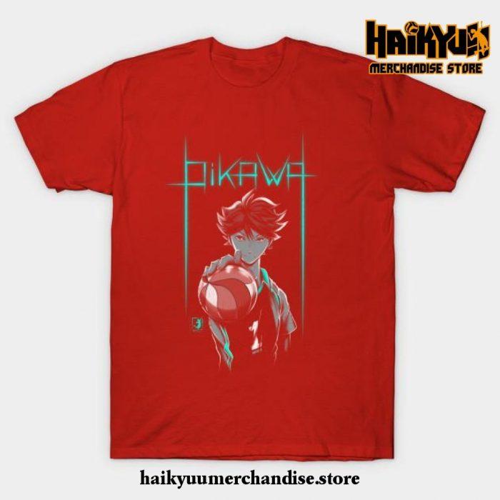 Oikawa T-Shirt Red / S