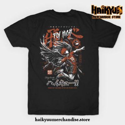 Shoyo Hinata - Karasuno T-Shirt Black / S