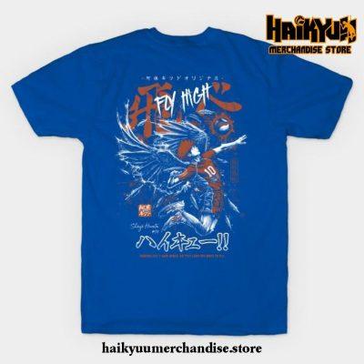 Shoyo Hinata - Karasuno T-Shirt Blue / S