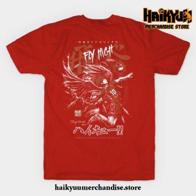 Shoyo Hinata - Karasuno T-Shirt Red / S